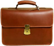 Vintage Laptop Briefcase