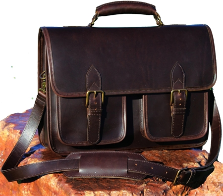 handmade leather briefcase made in usa slinger leather briefcase made in usa customhide 6425