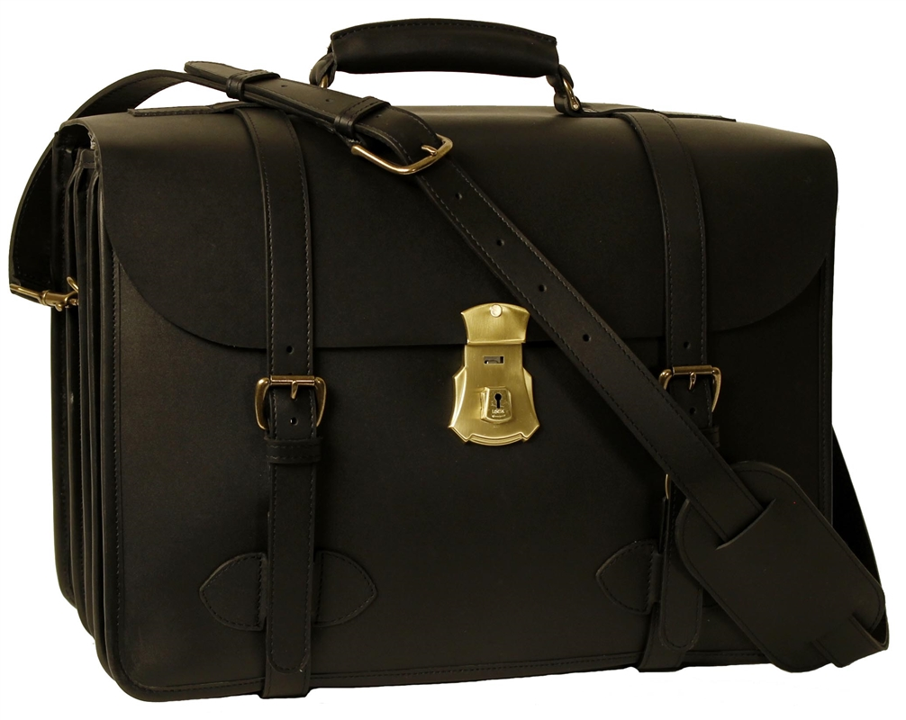 1945 Us Army Briefcase Four Compartment Made In Usa
